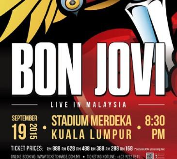 Bon Jovi Live In Kuala Lumpur