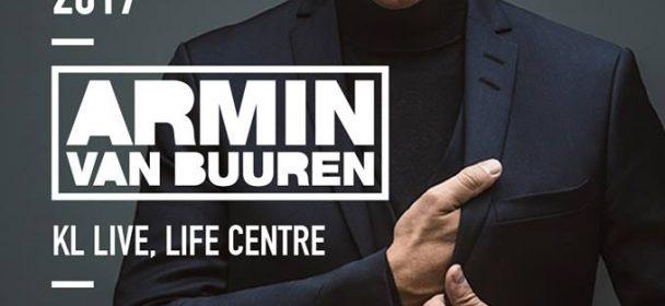 Armin van Buuren 2017 Kuala Lumpur