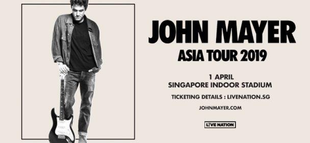 John Mayer Asia Tour 2019 Live In Singapore